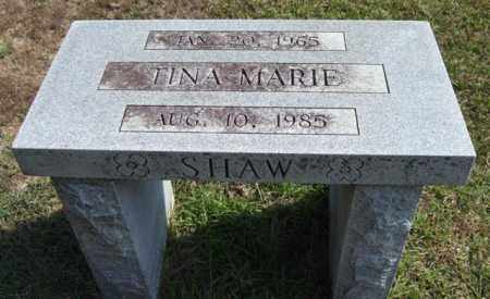 SHAW, TINA MARIE (BENCH) - Saline County, Arkansas | TINA MARIE (BENCH) SHAW - Arkansas Gravestone Photos