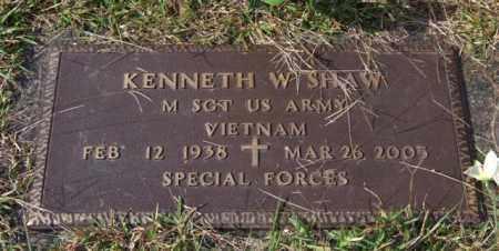 SHAW (VETERAN VIET), KENNETH W - Saline County, Arkansas | KENNETH W SHAW (VETERAN VIET) - Arkansas Gravestone Photos
