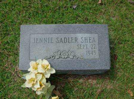 SHEA, JENNIE - Saline County, Arkansas | JENNIE SHEA - Arkansas Gravestone Photos