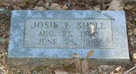 SHELL, JOSIE F. - Saline County, Arkansas   JOSIE F. SHELL - Arkansas Gravestone Photos
