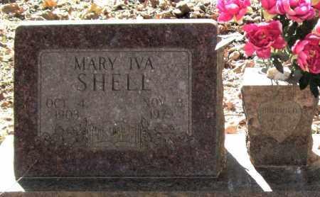 SHELL, MARY IVA (CLOSEUP) - Saline County, Arkansas | MARY IVA (CLOSEUP) SHELL - Arkansas Gravestone Photos