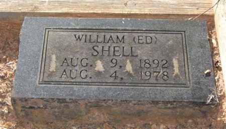 SHELL, WILLIAM EDWARD - Saline County, Arkansas | WILLIAM EDWARD SHELL - Arkansas Gravestone Photos