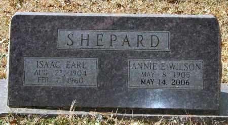 SHEPARD, ISAAC EARL - Saline County, Arkansas   ISAAC EARL SHEPARD - Arkansas Gravestone Photos