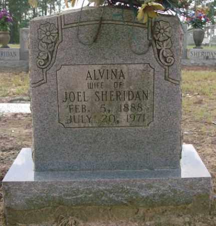 SHERIDAN, ALVINA - Saline County, Arkansas   ALVINA SHERIDAN - Arkansas Gravestone Photos