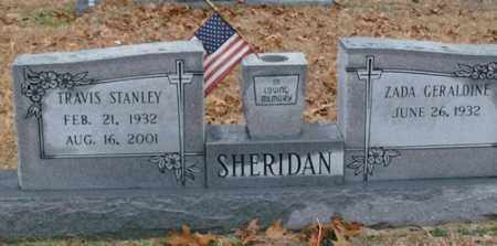 SHERIDAN, TRAVIS STANLEY - Saline County, Arkansas | TRAVIS STANLEY SHERIDAN - Arkansas Gravestone Photos