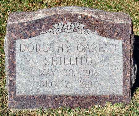 GARRETT SHILLITO, DOROTHY - Saline County, Arkansas | DOROTHY GARRETT SHILLITO - Arkansas Gravestone Photos