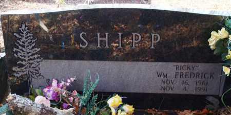 "SHIPP, WILLIAM FREDRICK ""RICKY"" - Saline County, Arkansas   WILLIAM FREDRICK ""RICKY"" SHIPP - Arkansas Gravestone Photos"