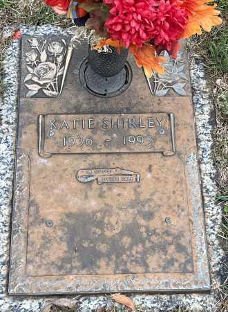 SHIRLEY, KATIE - Saline County, Arkansas | KATIE SHIRLEY - Arkansas Gravestone Photos