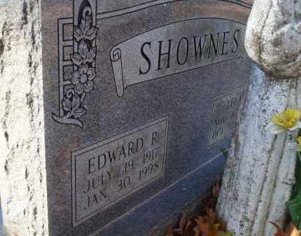 SHOWNES, EDWARD R - Saline County, Arkansas   EDWARD R SHOWNES - Arkansas Gravestone Photos