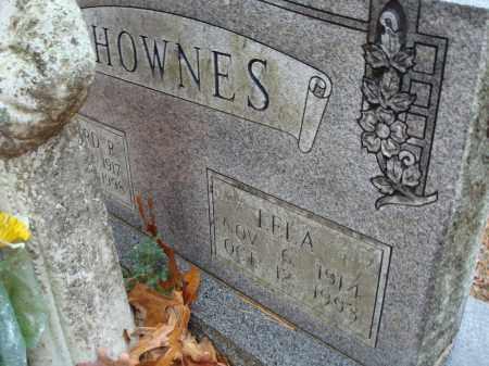 SHOWNES, LELA - Saline County, Arkansas   LELA SHOWNES - Arkansas Gravestone Photos