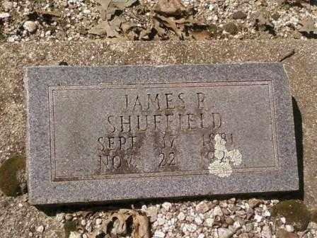 SHUFFIELD, JAMES - Saline County, Arkansas   JAMES SHUFFIELD - Arkansas Gravestone Photos