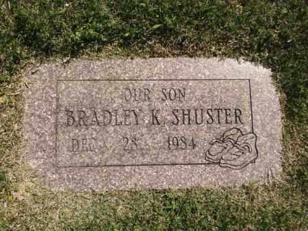 SHUSTER, BRADLEY K. - Saline County, Arkansas   BRADLEY K. SHUSTER - Arkansas Gravestone Photos
