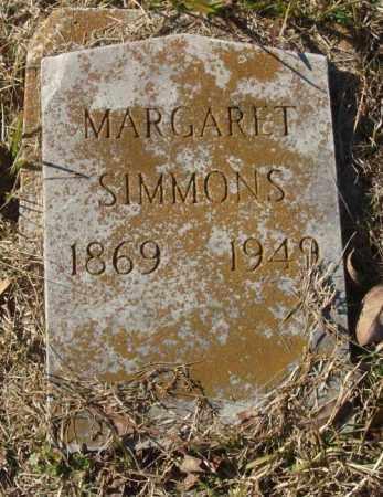 SIMMONS, MARGARET - Saline County, Arkansas | MARGARET SIMMONS - Arkansas Gravestone Photos
