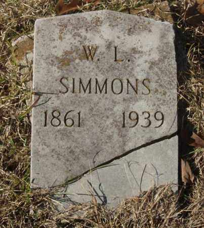 SIMMONS, W.L. - Saline County, Arkansas | W.L. SIMMONS - Arkansas Gravestone Photos