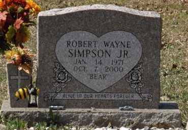 SIMPSON, JR., ROBERT WAYNE - Saline County, Arkansas   ROBERT WAYNE SIMPSON, JR. - Arkansas Gravestone Photos