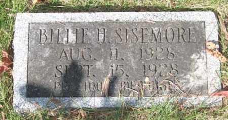 SISEMORE, BILLIE H. - Saline County, Arkansas | BILLIE H. SISEMORE - Arkansas Gravestone Photos