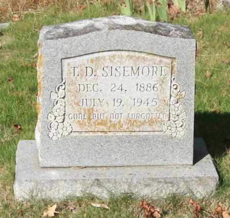SISEMORE, T. D. - Saline County, Arkansas | T. D. SISEMORE - Arkansas Gravestone Photos