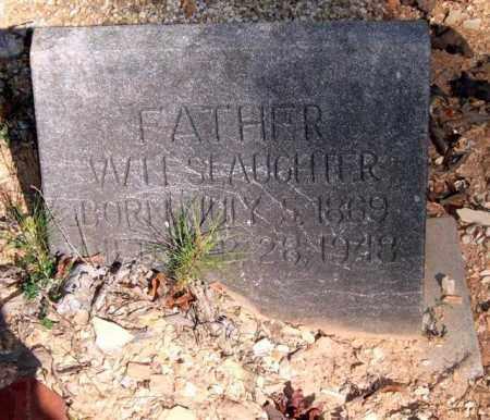SLAUGHTER, WILL - Saline County, Arkansas   WILL SLAUGHTER - Arkansas Gravestone Photos