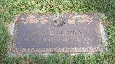 SLIWKA, ADA BEATRICE - Saline County, Arkansas | ADA BEATRICE SLIWKA - Arkansas Gravestone Photos