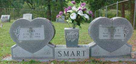 SMART, ALMA - Saline County, Arkansas | ALMA SMART - Arkansas Gravestone Photos