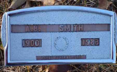 SMITH, A.B. - Saline County, Arkansas | A.B. SMITH - Arkansas Gravestone Photos