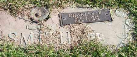 SMITH, CHARLES E. - Saline County, Arkansas   CHARLES E. SMITH - Arkansas Gravestone Photos