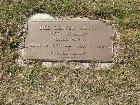 SMITH (VETERAN WWII), DEE OLIVER - Saline County, Arkansas   DEE OLIVER SMITH (VETERAN WWII) - Arkansas Gravestone Photos