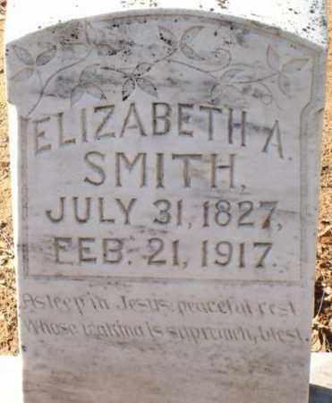 SMITH, ELIZABETH A - Saline County, Arkansas   ELIZABETH A SMITH - Arkansas Gravestone Photos
