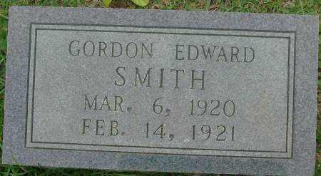 SMITH, GORDON EDWARD - Saline County, Arkansas   GORDON EDWARD SMITH - Arkansas Gravestone Photos