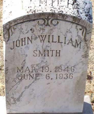 SMITH, JOHN WILLIAM - Saline County, Arkansas   JOHN WILLIAM SMITH - Arkansas Gravestone Photos