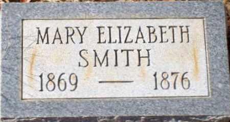 SMITH, MARY ELIZABETH - Saline County, Arkansas | MARY ELIZABETH SMITH - Arkansas Gravestone Photos