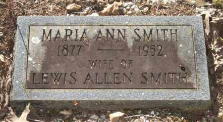 SMITH, MARIA ANN - Saline County, Arkansas | MARIA ANN SMITH - Arkansas Gravestone Photos