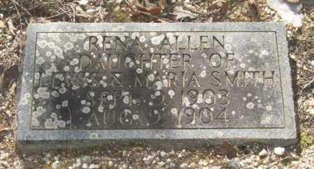 SMITH, RENA ALLEN - Saline County, Arkansas | RENA ALLEN SMITH - Arkansas Gravestone Photos