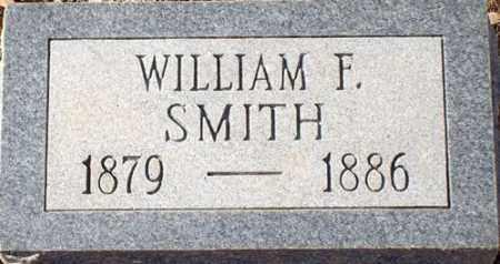 SMITH, WILLIAM F - Saline County, Arkansas | WILLIAM F SMITH - Arkansas Gravestone Photos