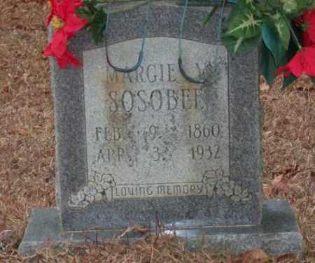 SOSOBEE, MARGIE V. - Saline County, Arkansas   MARGIE V. SOSOBEE - Arkansas Gravestone Photos
