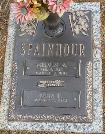 SPAINHOR, MELVIN A. - Saline County, Arkansas   MELVIN A. SPAINHOR - Arkansas Gravestone Photos