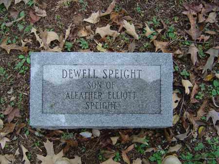 SPEIGHT, DEWELL - Saline County, Arkansas | DEWELL SPEIGHT - Arkansas Gravestone Photos