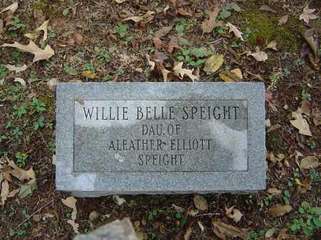SPEIGHT, WILLIE BELLE - Saline County, Arkansas | WILLIE BELLE SPEIGHT - Arkansas Gravestone Photos