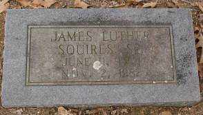 SQUIRES, SR., JAMES LUTHER - Saline County, Arkansas | JAMES LUTHER SQUIRES, SR. - Arkansas Gravestone Photos