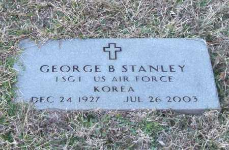 STANLEY (VETERAN KOR), GEORGE B - Saline County, Arkansas   GEORGE B STANLEY (VETERAN KOR) - Arkansas Gravestone Photos