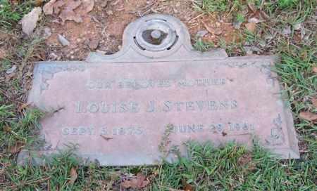 STEVENS, LOUISE J. - Saline County, Arkansas | LOUISE J. STEVENS - Arkansas Gravestone Photos