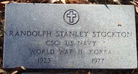 STOCKTON (VETERAN 2 WARS), RANDOLPH STANLEY - Saline County, Arkansas | RANDOLPH STANLEY STOCKTON (VETERAN 2 WARS) - Arkansas Gravestone Photos