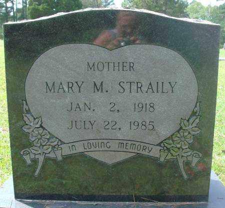 STRAILY, MARY - Saline County, Arkansas | MARY STRAILY - Arkansas Gravestone Photos