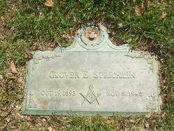 STRICKLIN, GLOVER E. - Saline County, Arkansas | GLOVER E. STRICKLIN - Arkansas Gravestone Photos