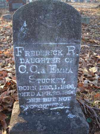STUCKEY, FREDERICK R - Saline County, Arkansas | FREDERICK R STUCKEY - Arkansas Gravestone Photos