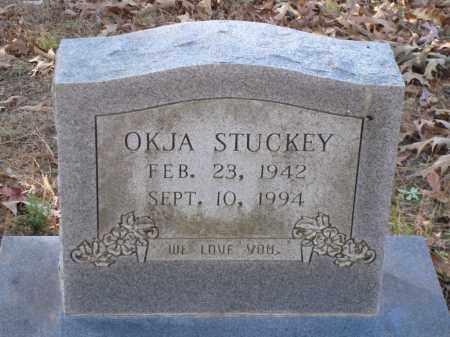 STUCKEY, OKJA - Saline County, Arkansas   OKJA STUCKEY - Arkansas Gravestone Photos