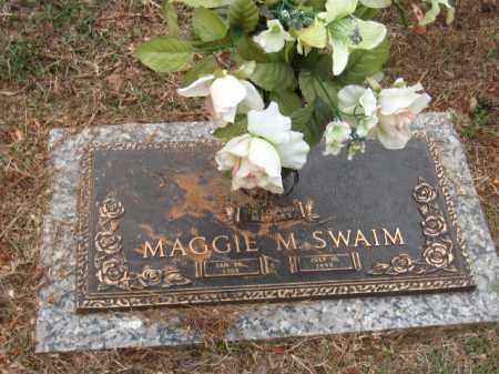 SWAIM, MARGARET - Saline County, Arkansas | MARGARET SWAIM - Arkansas Gravestone Photos