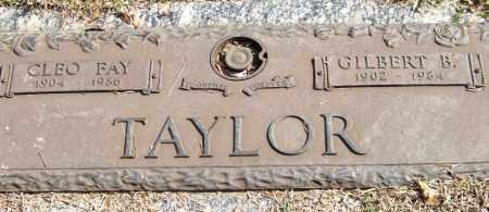 TAYLOR, GILBERT B. - Saline County, Arkansas | GILBERT B. TAYLOR - Arkansas Gravestone Photos