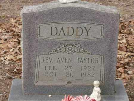 TAYLOR, REV, AVEN - Saline County, Arkansas | AVEN TAYLOR, REV - Arkansas Gravestone Photos