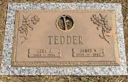 TEDDER, LERA J. - Saline County, Arkansas | LERA J. TEDDER - Arkansas Gravestone Photos